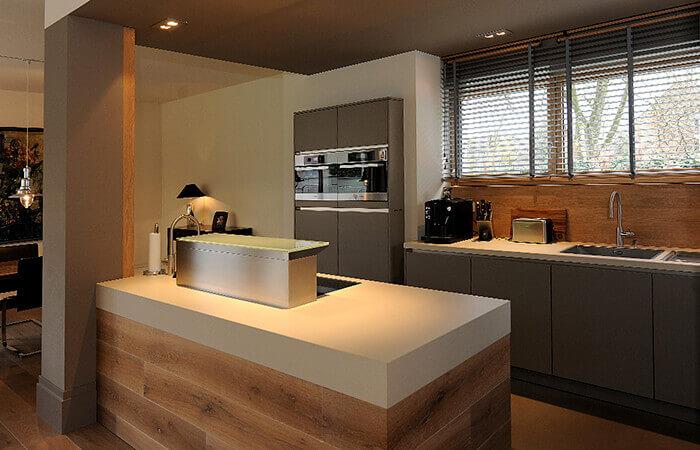Innenausbau Schreinerkuchen Korfmacher Holzverarbeitung